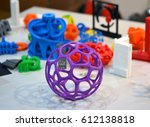 shape printed by 3d printer.... | Shutterstock . vector #612138818
