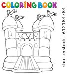 coloring book inflatable castle ...