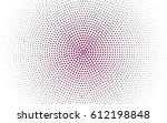 dark pink vector modern... | Shutterstock .eps vector #612198848