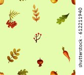 autumn. pattern | Shutterstock . vector #612211940