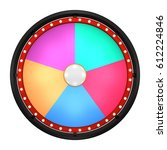 3d illustration of lucky spin... | Shutterstock . vector #612224846