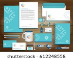 people logo color community... | Shutterstock .eps vector #612248558