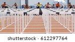 kangar 24 may 2014   running... | Shutterstock . vector #612297764