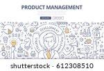 doodle vector illustration of... | Shutterstock .eps vector #612308510