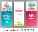 sale background banner with... | Shutterstock .eps vector #612322094