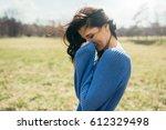 horizontal portrait of... | Shutterstock . vector #612329498