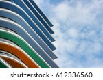 Colorful Architecture With Blue ...