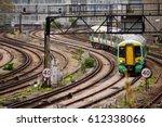 london  england   march 31 2017 ... | Shutterstock . vector #612338066