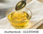 raw organic sweet light agave...   Shutterstock . vector #612350408
