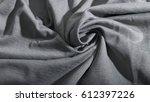 luxurious elegant gray fabric ...   Shutterstock . vector #612397226