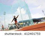 kangar 31 may 2014   athletes... | Shutterstock . vector #612401753