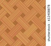 basket weave parquet pattern  ... | Shutterstock .eps vector #612408878