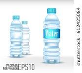 Set Of Three Plastic Bottles...