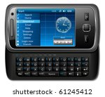 mobile phone  smartphone   ... | Shutterstock .eps vector #61245412