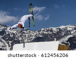 chiesa valmalenco  italy  ... | Shutterstock . vector #612456206
