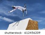 chiesa valmalenco  italy  ... | Shutterstock . vector #612456209