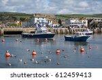 lyme regis  dorset uk   march...   Shutterstock . vector #612459413
