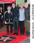Small photo of LOS ANGELES, CA. February 10, 2017: Singer Adam Levine & parents & brother at the Hollywood Walk of Fame Star Ceremony honoring singer Adam Levine.