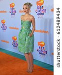 Small photo of LOS ANGELES, CA. March 11, 2017: Actress Dove Cameron at the Nickelodeon 2017 Kids' Choice Awards at the USC's Galen Centre, Los Angeles