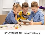 education  science  technology  ... | Shutterstock . vector #612498179