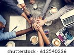 collaboration connection team... | Shutterstock . vector #612540236