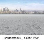 road and city skyline   Shutterstock . vector #612544934