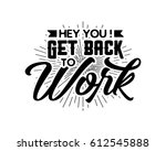 typography writing text | Shutterstock .eps vector #612545888