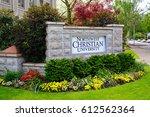 eugene  or   may 14  2015  sign ... | Shutterstock . vector #612562364