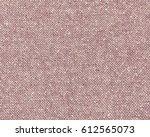 reddish tweed texture closeup... | Shutterstock . vector #612565073