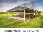 Covered Picnic Area And Tables...