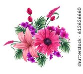 vector design of colorful... | Shutterstock .eps vector #612626660