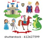 set of fairy tale character....   Shutterstock .eps vector #612627599