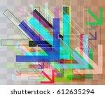 arrows elements pattern   Shutterstock .eps vector #612635294