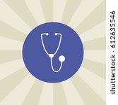 stethoscope icon. sign design....