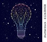 lamp   constellation   star  ...   Shutterstock .eps vector #612638408