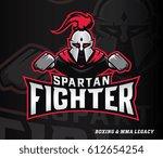 vector sportive illustration of ... | Shutterstock .eps vector #612654254