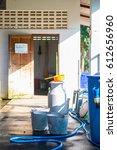 milk tank for store cow   s... | Shutterstock . vector #612656960