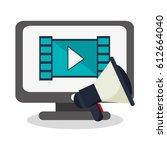 monitor computer icon   Shutterstock .eps vector #612664040