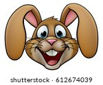 A Cartoon Rabbit Or Easter...