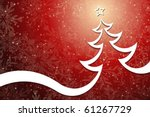 christmas tree | Shutterstock .eps vector #61267729