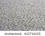 Grey Coble Stone Background....