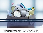 Small photo of donate, be human and help, small thing makes someone happy