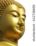 face of the buddha. | Shutterstock . vector #612728600