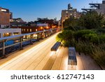 The Highline At Twilight In...
