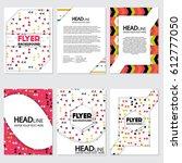 fresh background flyer style... | Shutterstock .eps vector #612777050
