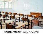 class room | Shutterstock . vector #612777398