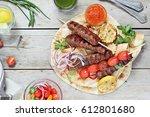 Kebab.traditional  Meat Kebab...