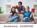 students preparing for...   Shutterstock . vector #612805484