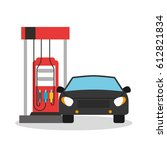 oil industry business icons   Shutterstock .eps vector #612821834