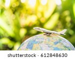 travel and transport concept.... | Shutterstock . vector #612848630